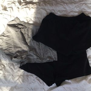 Set of 3 soffe shorts